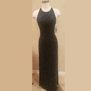 Cache Black Sequin Gown for New Year's Eve